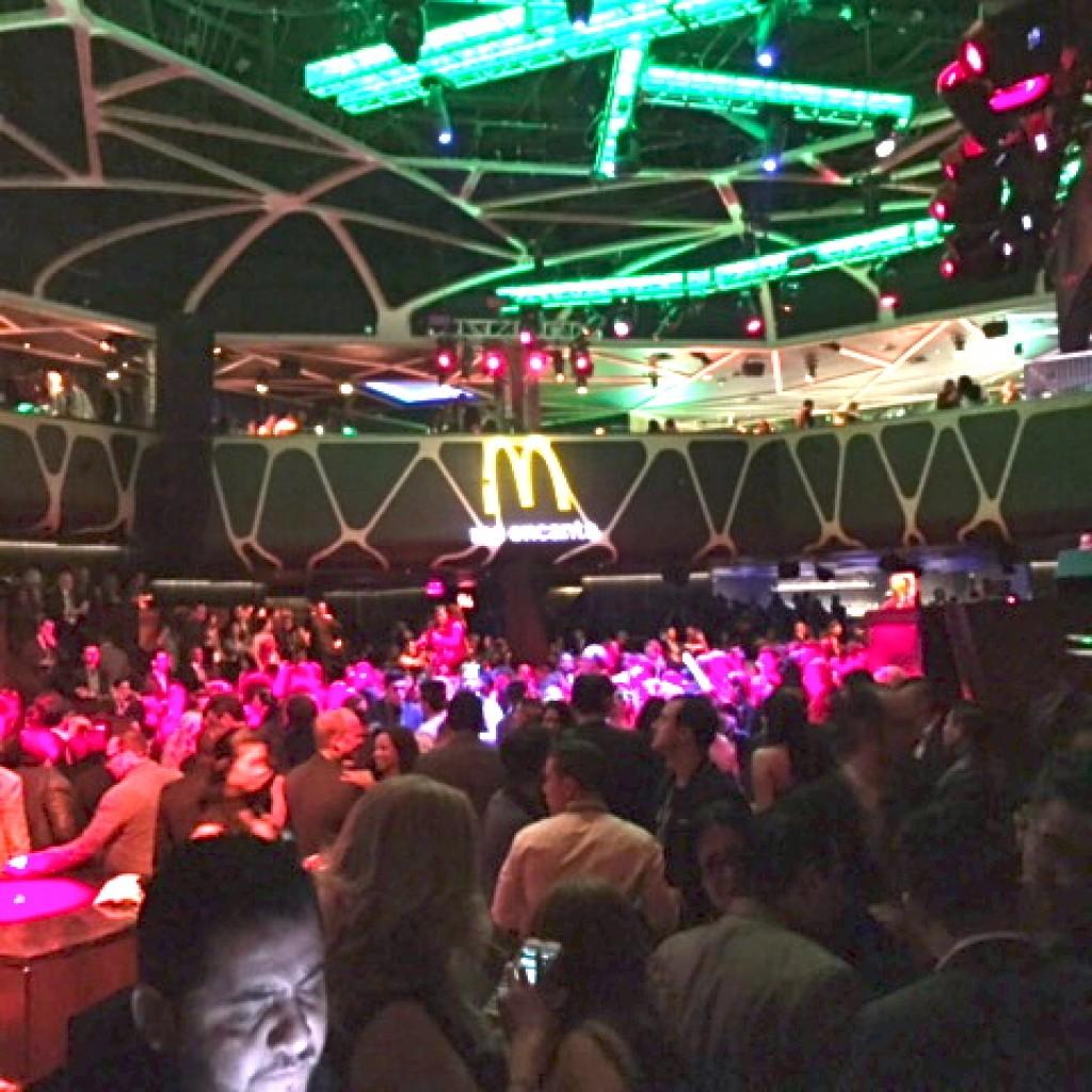 The after-party at Hakkasan Nightclub